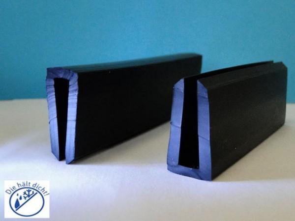 Gummi U-Profile Adele Höhe: 31 x Breite: 16 mm
