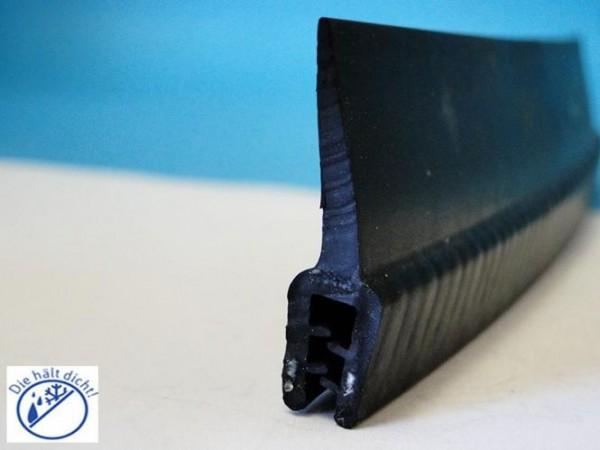 Lisama Hö: 33,5mm, Br: 8,8mm, Kl: 1-3mm Kantenschutz mit Metallklemmband