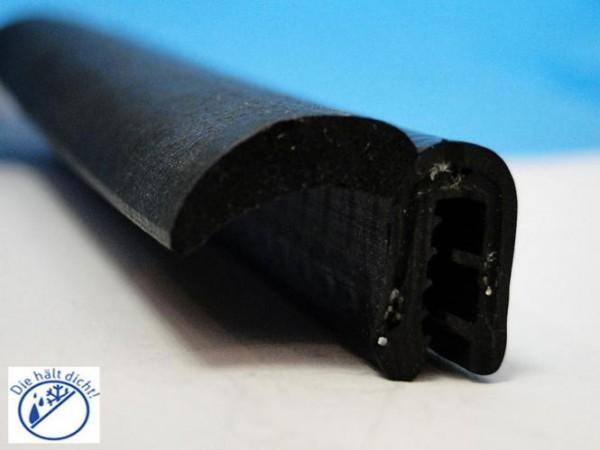 Cassio Hö: 13,7mm, Br: 22,45mm, Kl: 2-3mm Kantenschutz mit Metallklemmband