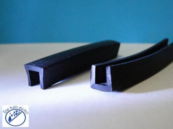 Gummi U-Profile Anastasa Höhe: 9 x Breite: 10,5 mm