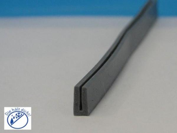 Biagio Hö: 8mm, Br: 3,5mm Silikon U-Profil