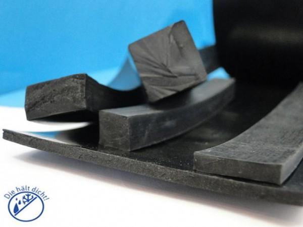 Gummi Quadratschnur Rigo 20x20mm