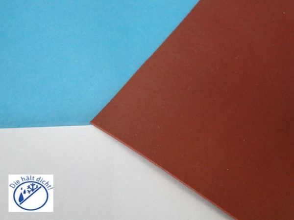 Silikonplatte 60° rotbraun Höhe: 1mm Reisano