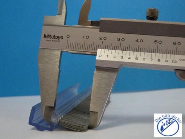 Seitenglas-Spaltdichtung Malisana für 12mm Glas