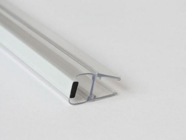 Duschkabinen Magnetdichtung Prisca für 10-12mm Glasstärke, Magnetprofil 180°