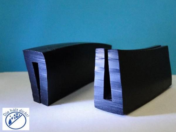 Gummi U-Profile Aqilla Höhe: 31 x Breite: 18 mm