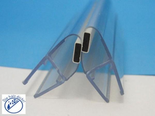 Duschkabinen Magnetdichtung Set Odo für 6-8 mm Glasstärke, Magnetprofil 135°
