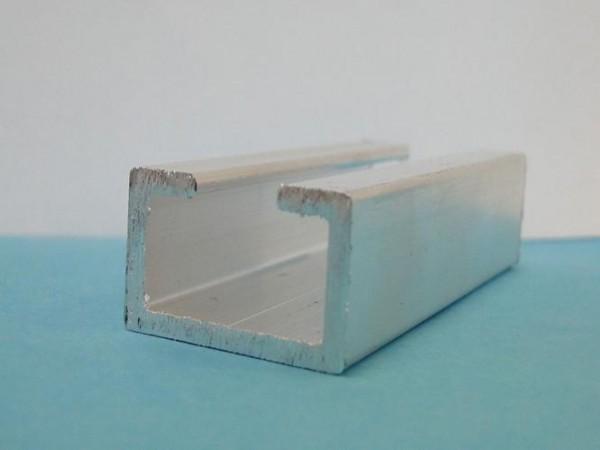 Halteleiste für Pufferprofile Cornelio Höhe: 17,5 mm, Öffnungsbreite: 10 mm