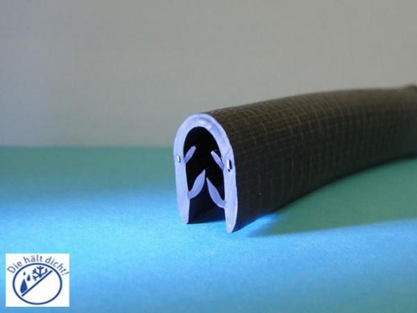 Bartomo Hö: 17mm, Br: 12,3mm, Kl: 4-6mm Kantenschutzdichtungen mit Metallklemmband