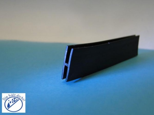Fila 70° Hö: 16mm, Br: 5mm Gummi H-Profil