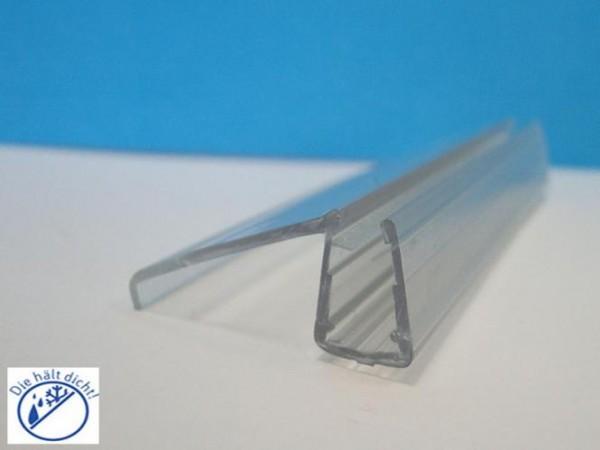 Eckanschlag Aufsteckdichtung Imera für 6-8mm Glasstärke