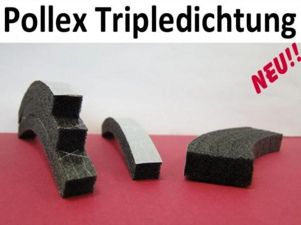 Pollex Tripleklebedichtung Hö: 8 x Br: 10mm anthrazit