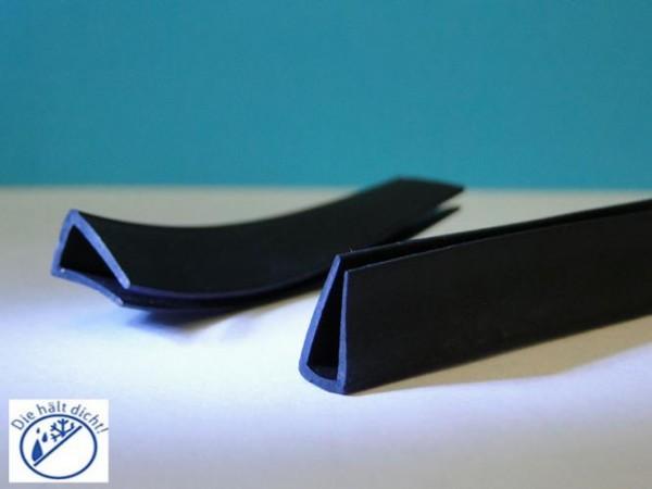 Gummi U-Profile Ilaria Höhe: 10 x Breite: 4,5 mm