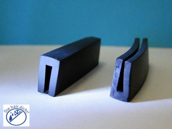 Gummi U-Profile Amitore Höhe:14 x Breite: 9 mm