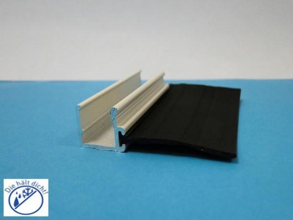 Glaswandlippenleiste Lungo für 10mm mit Dekoroptik