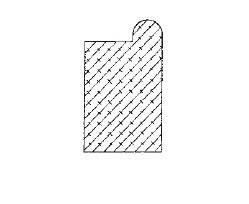 Stahlzargendichtung Balassa 1 Moosgummidichtung