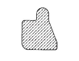 Stahlzargendichtung Bartolom 1 Moosgummidichtung
