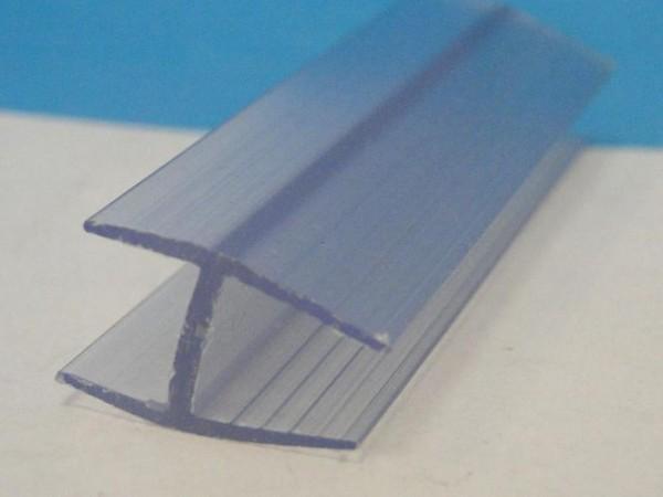 Glashalteleiste Newa für Nutprofile 6mm Glasstärke
