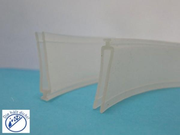 Ersatzdichtung Wolana für Seitenglaswandschienen