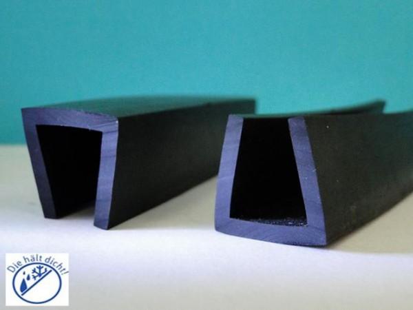 Gummi U-Profile Ariberto Höhe: 20 x Breite: 21 mm