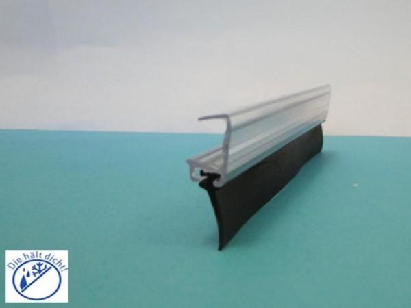 Seitenglaswandlippenschiene Danura für 10mm Glas