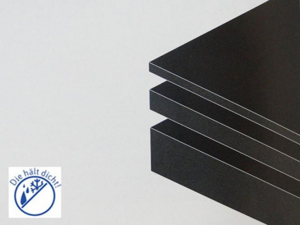 Gummiplatte NBR/SBR 65°Pako Höhe: 15mm