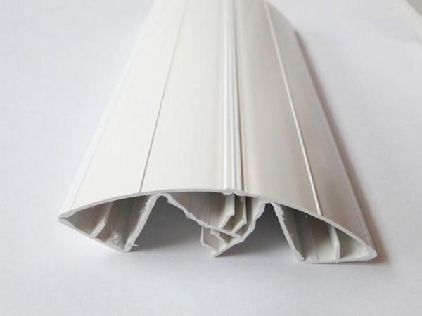 Fingerklemmschutz Jonas 1 (weiss) Länge: 1,98 Meter Kunststoffklemmleiste schaml/breit