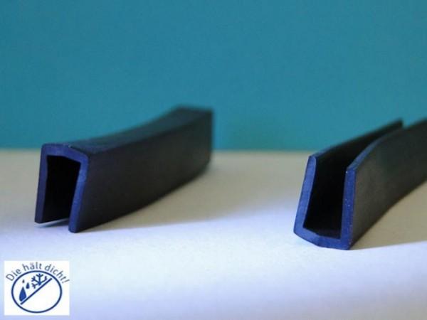 Gummi U-Profile Amerigo Höhe:12 x Breite: 9 mm