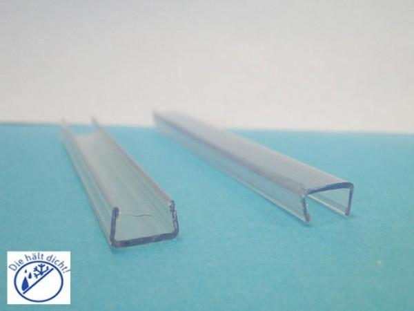 Glaskantenschutz Faruco für 8mm Glasstärke