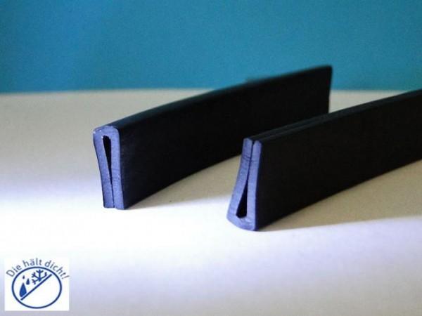 Gummi U-Profile Alido Höhe: 12 x Breite: 6 mm
