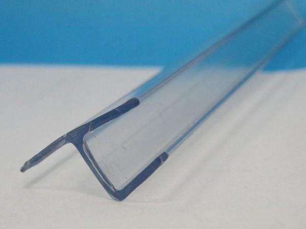 Frontanschlag Aufsteckdichtung Nestore für 6mm Glasstärke