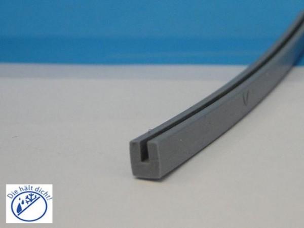 Guspano Hö: 7mm, Br: 6mm Silikon U-Profil