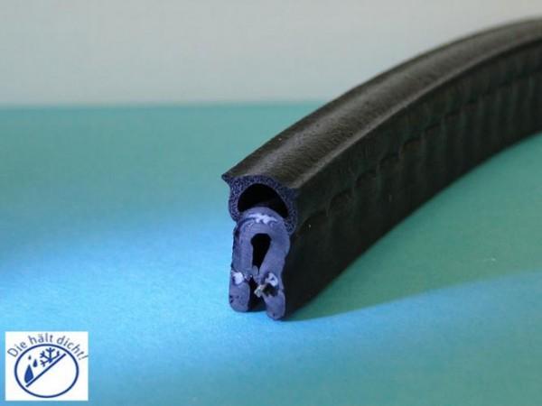 Bennetto Hö: 15,6mm, Br: 8,4mm, Kl: 1-2mm Kantenschutz mit Metallklemmband