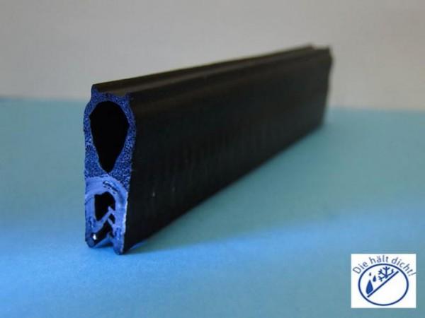 Kantenschutzdichtprofil Liciano mit Brandschutzqualität Hö: 27mm, Br: 9,8mm, Kl: 1-3mm