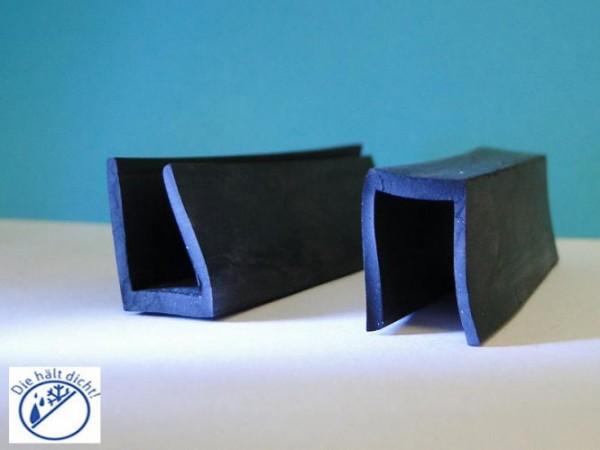 Gummi U-Profile Aneta Höhe: 20 x Breite: 14,5 mm