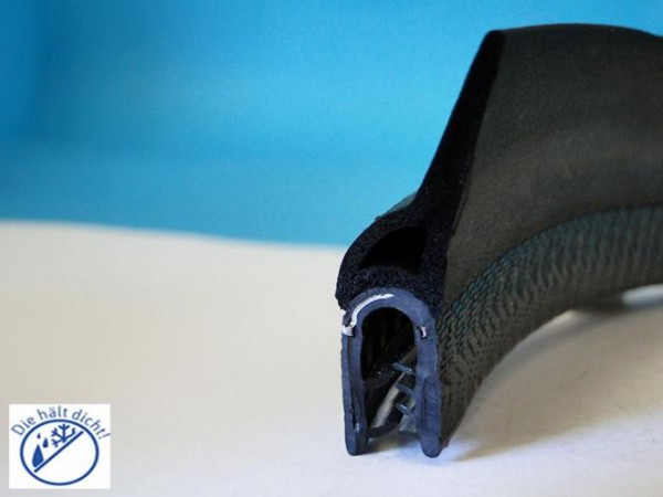 Joella Hö: 38,5mm, Br: 14,6mm, Kl: 1,5-3,5mm Kantenschutz mit Metallklemmband