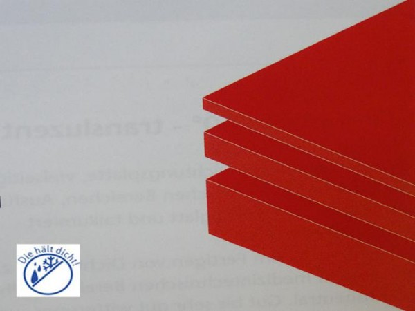 Verschleißschutz Gummiplatte rot Indura Höhe: 4mm