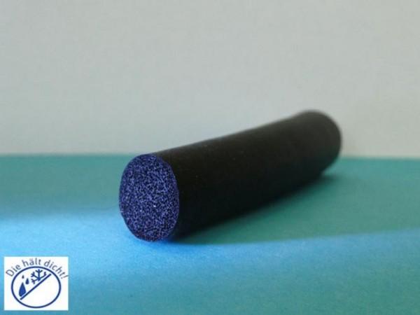 Braga Moosgummi Rundschnur 11mm Durchmesser