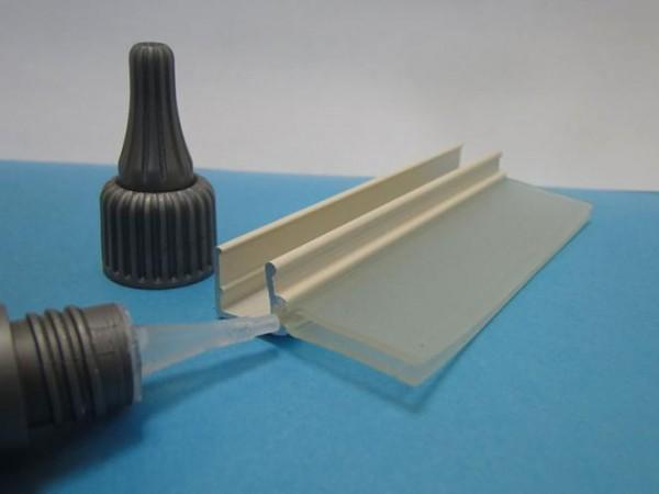 glaswandlippenleiste lungo dekoroptik | glaswandleisten
