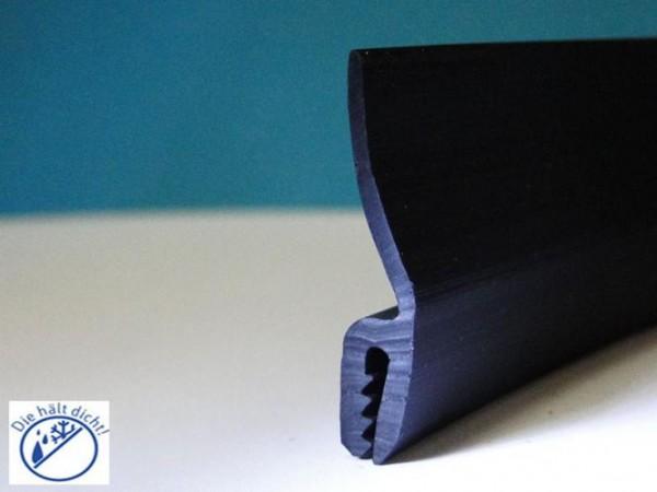 Hö: 34mm, Br: 6mm, Kl: 1,5-2mm Kantenschutz mit Wasserabweislippe