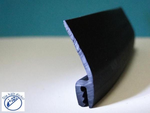 Hö: 28mm, Br: 7mm, Kl: 1,5-2mm Kantenschutz mit Wasserabweislippe