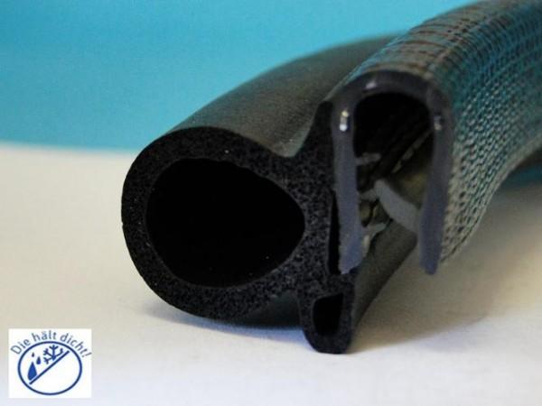 Aldora Hö: 20,6mm, Br: 26,7mm, Kl: 2,5-4mm Kantenschutz mit Metallklemmband