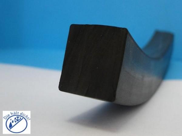 Gummi Quadratschnur Rossa 10x10mm
