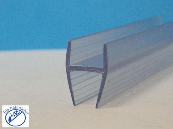 Glaskanten 10mm H-Profil Mulata