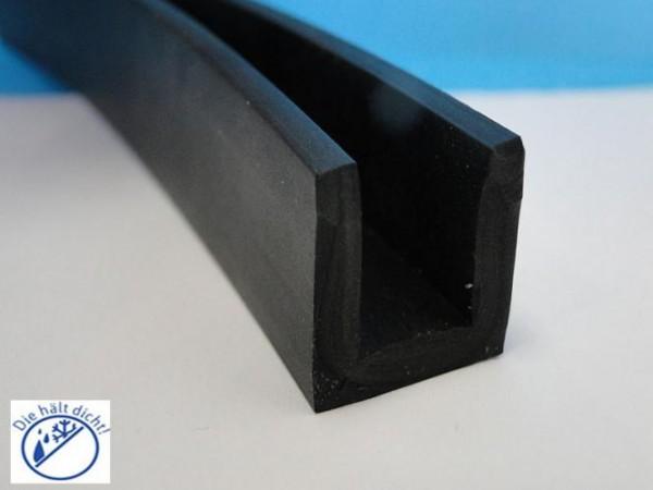 Gummi U-Profile Ambrosia Höhe: 8 x Breite: 8 mm