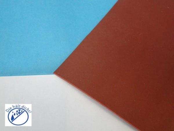 Silikonplatte 60° rotbraun Höhe: 8mm Riza