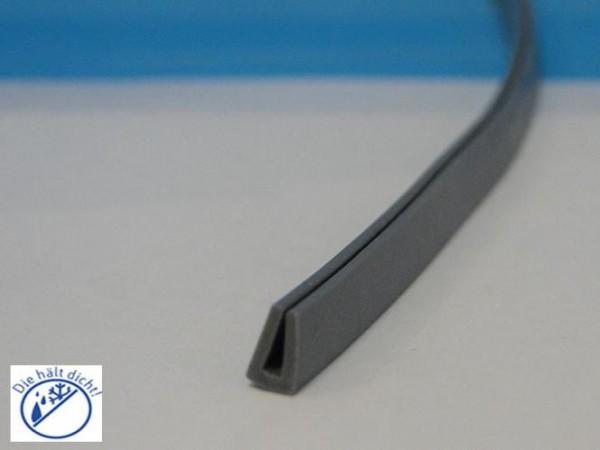 Bonoventuno Hö: 10mm, Br: 7mm Silikon U-Profil