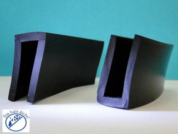 Gummi U-Profile Ariano Höhe: 34 x Breite: 20 mm