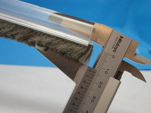 Menorca für 10mm Glas gerade zulaufende Glaswanddichtung